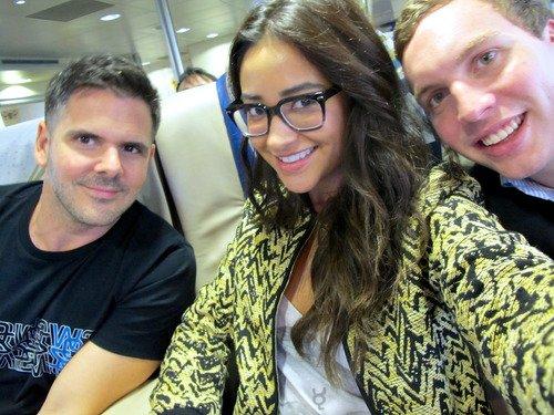 Shay Mitchell et son merveilleux voyage à travers l'Asie