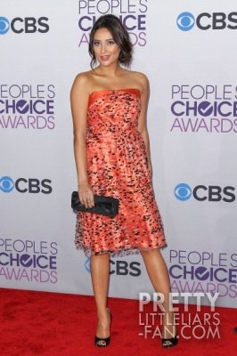 Shay Mitchell aux People's Choice Awards 2013
