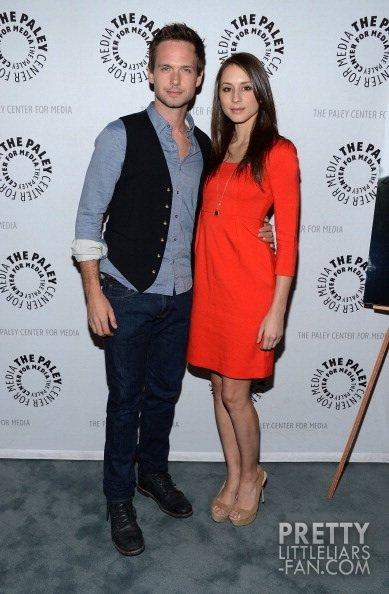 Troian Bellisario avec son petit-copain au Paley Center pour célébrer la série Suits