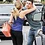 Ashley Benson quittant un restaurant à Hollywood