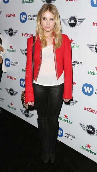 Ashley Benson à une soirée en l'honneur des Grammy Awards 2013