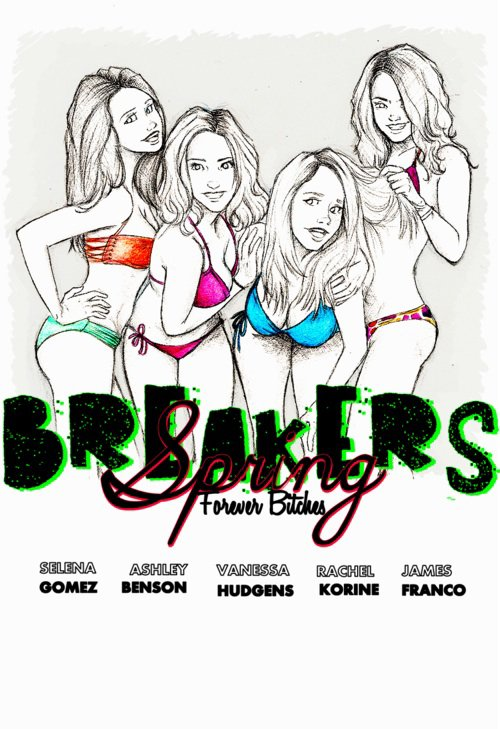Photos du film Spring Breakers !