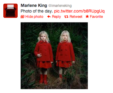 Théorie des soeurs jumelles.