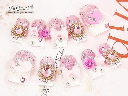 **Yukiumi nail art**