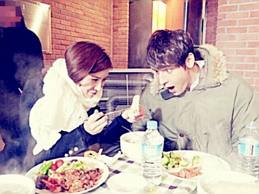 WGM Julien Kang et Yoon Se Ah <3