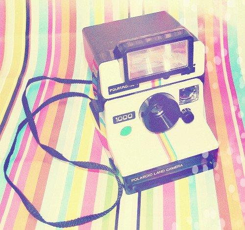 Polaroid. Plutôt Kawaii ou vintage ?
