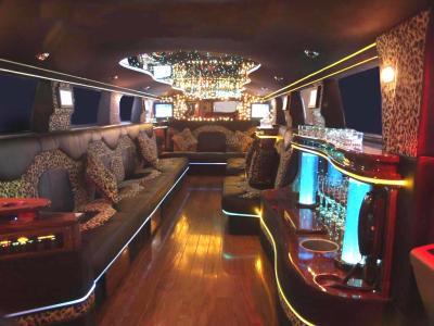 Interieur du Hummer Limousine - Les Meilleur du tuning est des vehicule.