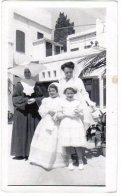 Madame Auriacombe et soeur Jeanne