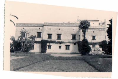 La villa Lung autrefois