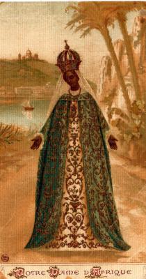Image pieuse de Notre-Dame d'Afrique
