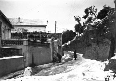 La neige au Clos