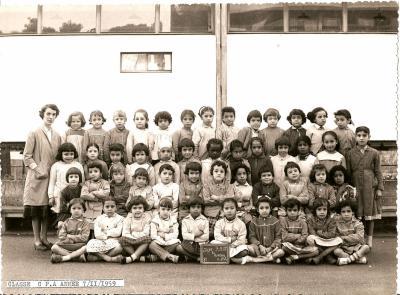 Photo de classe de 1959