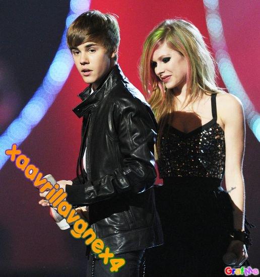 Avril et Justin