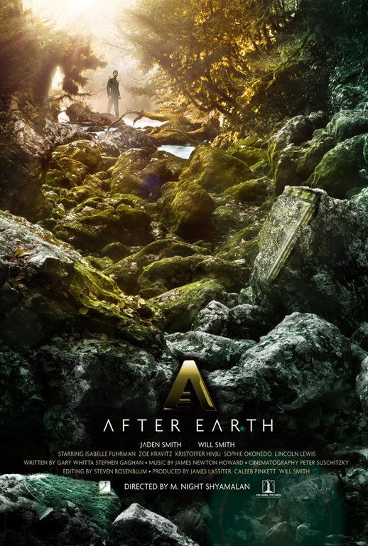Affiche D'After Earth (June,13)