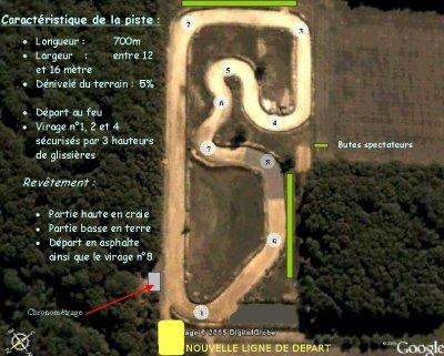 Voici notre circuit à Maillot (89)dans l'yonne
