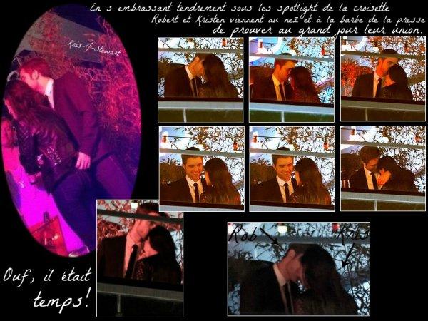 23.05.2012 : Kristen et Rob à Sur la route après la fête à Cannes Plus aucune excuse ne sera tolérée ^^ ! Car c'est officiel !