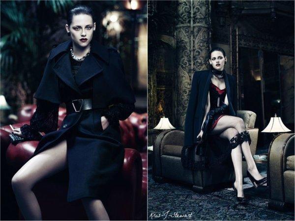 Kristen et Charlize encouverturedu Magazine «Interview» J'adore le Shoot et vous ?