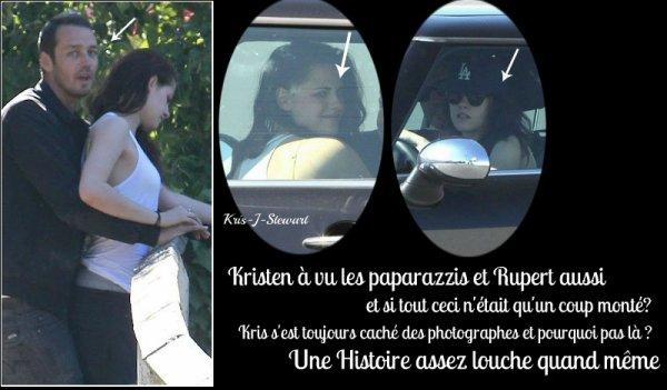 La grande rumeur du moment :Kristen aurait trompé Rob avec Rupert Sanders, Le réalisateur du film Blanche Neige et le Chasseur ; Marié & 2 Enfants  !