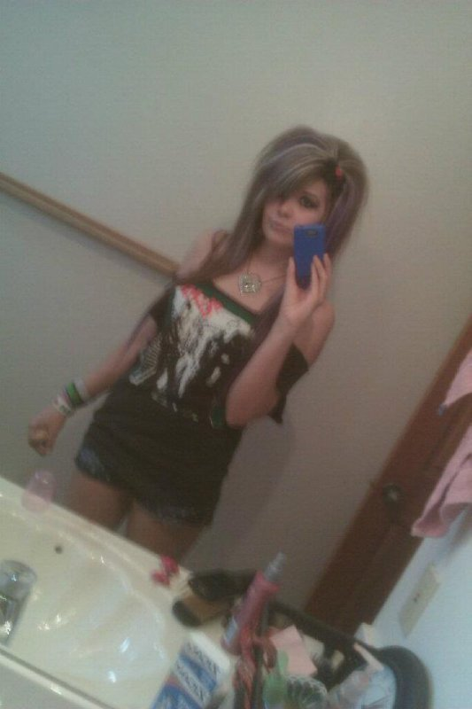 yeah i use to be a brunette....