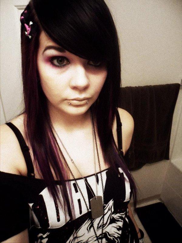 emo girl ♥