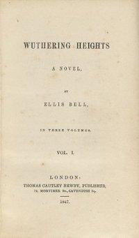 """Les Hauts de Hurlevent"" - Emily Brontë"