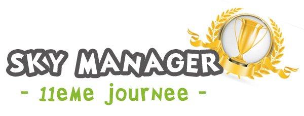 kamel-amg Sky Manager de la 11ème journée