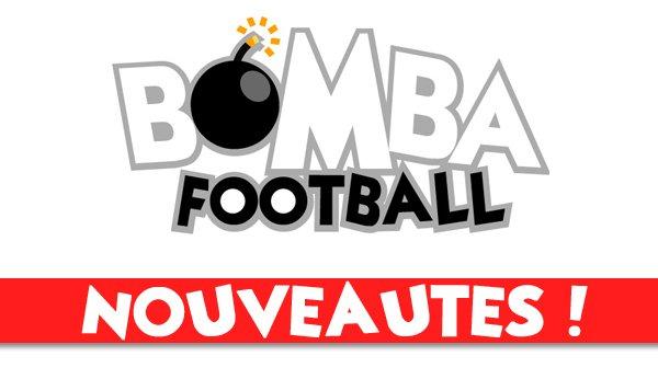 Un nouveau look pour Bomba Football !