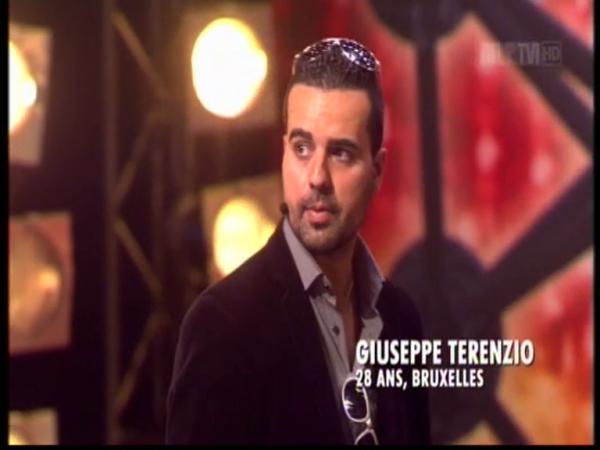 Giuseppe Terenzio à Belgium got talent