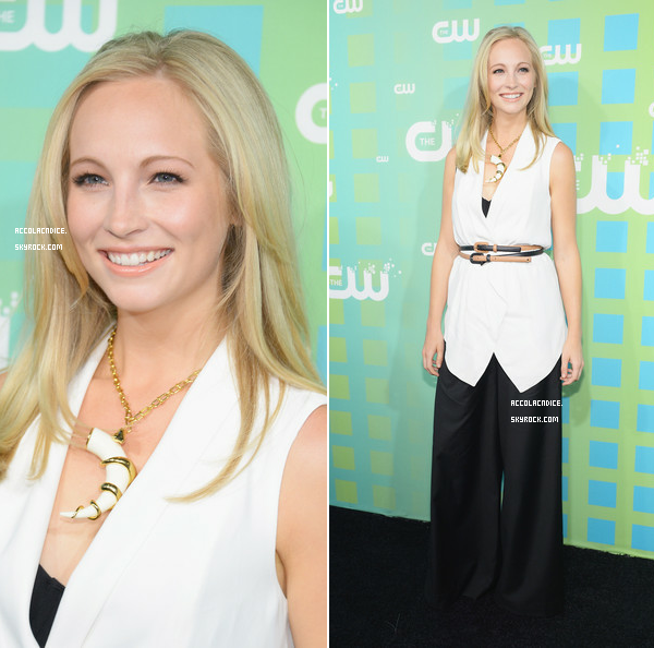 17 Mai :  Candice était au CW Upfront
