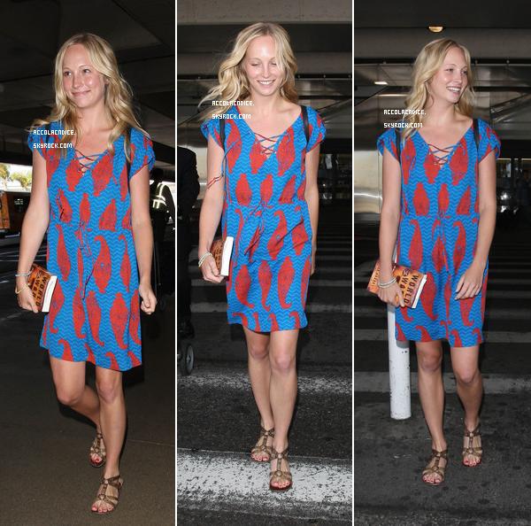 06 Juillet : Candice et le TVD Cast à Los Angeles