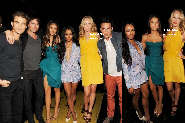 22 Juillet : Candice et le TVD Cast aux Teen Choice Awards