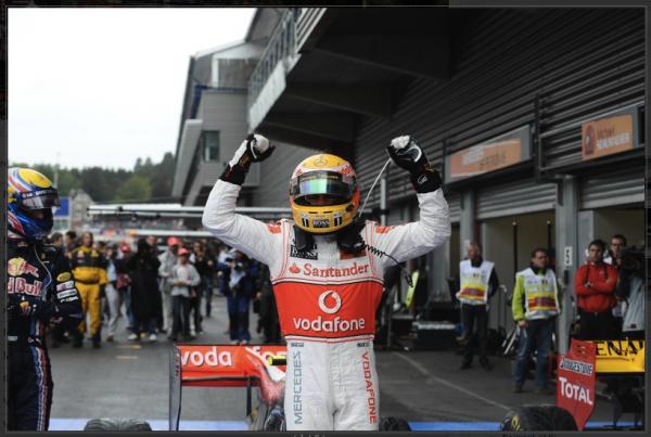 Résultat GP Belgique 2010
