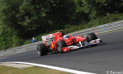Ferrari prêt à faire face à toutes les situations