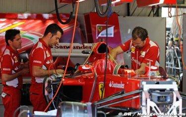 F1 - Domenicali : La F2012 doit signer des poles Pour faire de meilleures courses encore