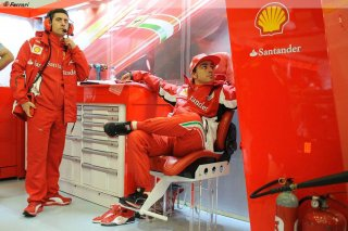 Alonso plus rapide aux essais GP Belgique 2012