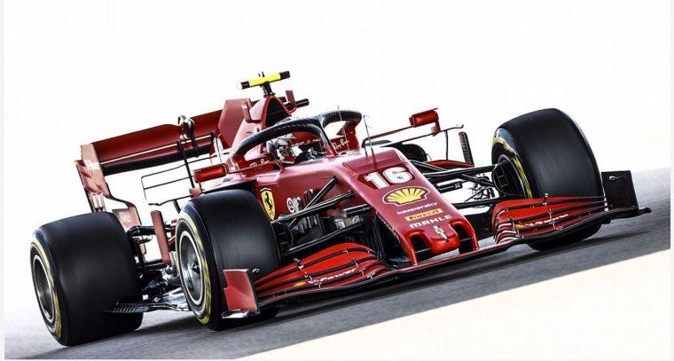 Lors du Grand Prix de Russie, Ferrari a affiché de timides progrès, concrétisés en course par un Charles Leclerc volontaire.