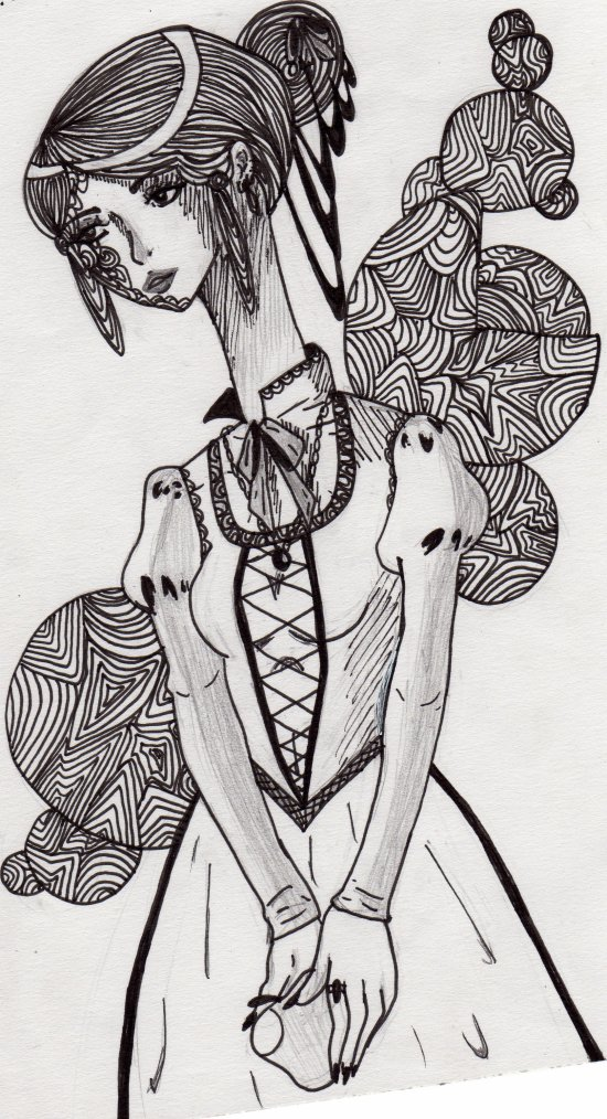 femme au grand cou ^_^