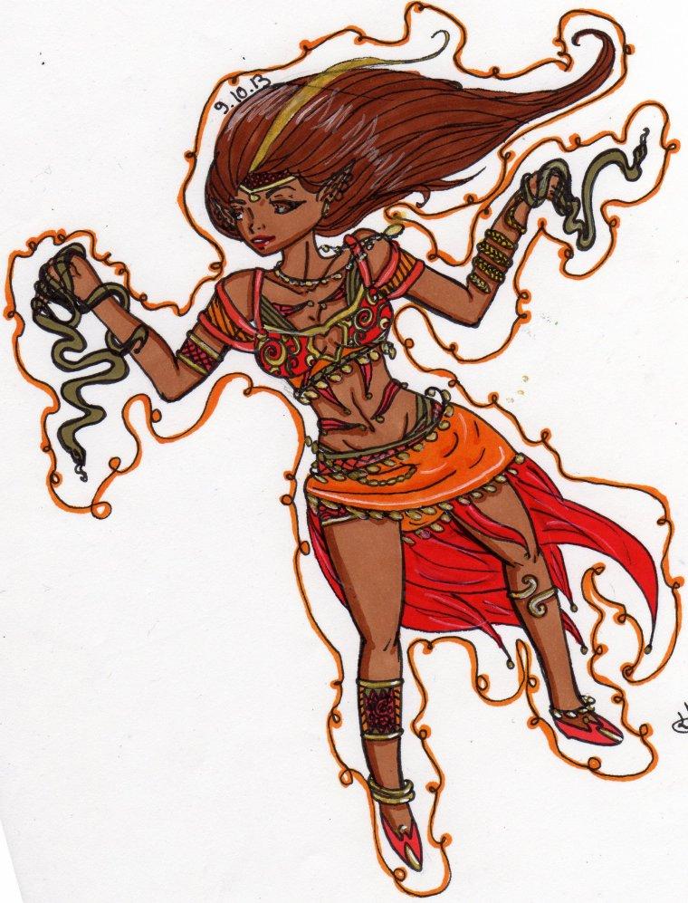 La danseuse oriantal