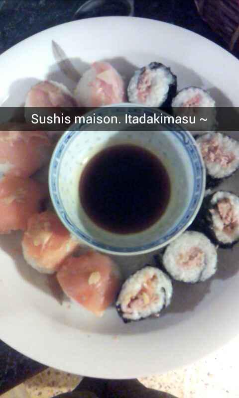 Sushi powaaa :3