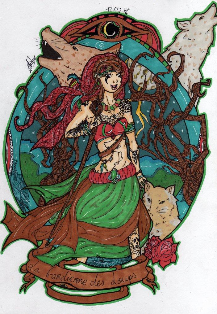 La gardienne des Loups