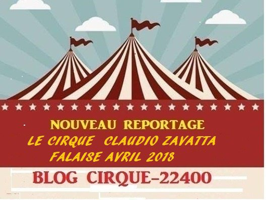 LE CIRQUE CLAUDIO ZAVATTA FALAISE AVRIL 2018