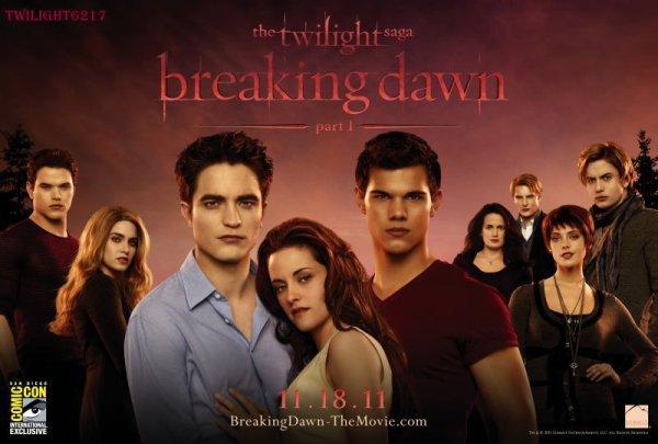Poster Breaking Dawn officiel