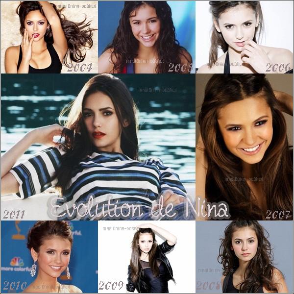 L'évolution de Nina <3