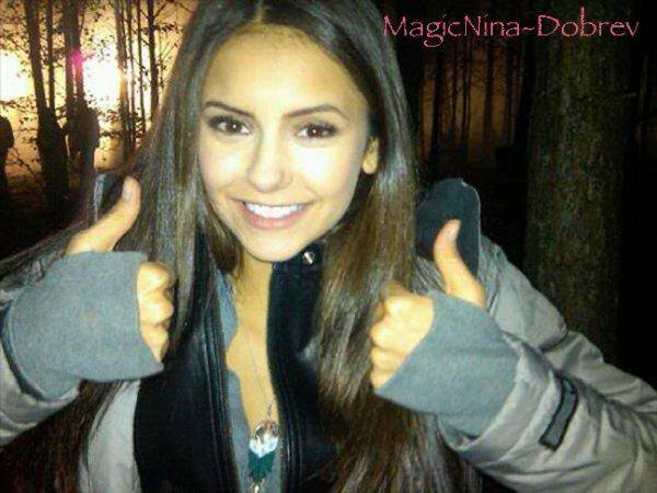 Autre photo perso de notre belle Nina <3