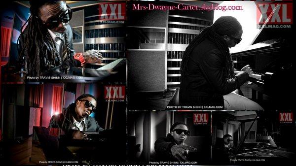 ๑ Info' & Pics: Extrait de l'interview pour le Magazine XXL de Lil Wayne + Le photoshoot.