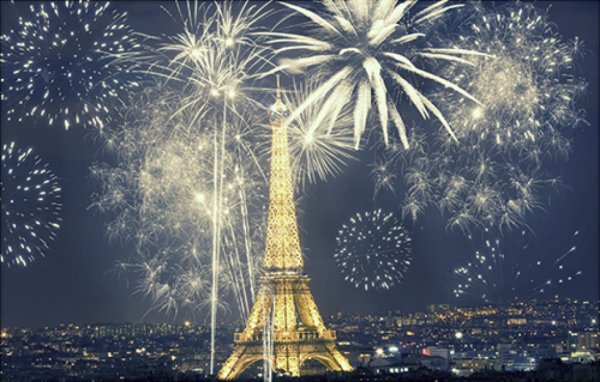 Bonne fin d'année de Paris
