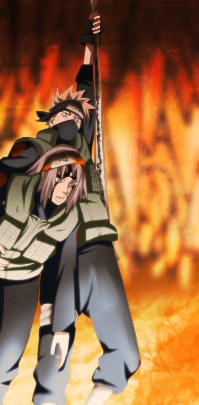 Sakura et Kakashi