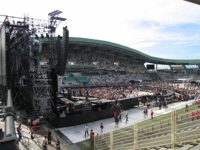 Concert johnny le 17 juin 2009 au stade de la beaujoire nantes jeandesthuyas - Porte de la beaujoire nantes ...