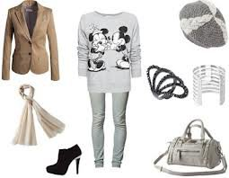 tenue minnie & mickey