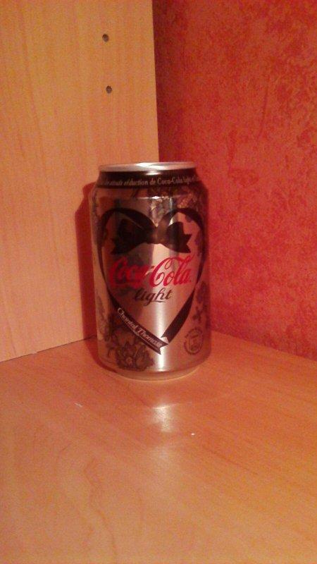Nouvelle canette coca cola